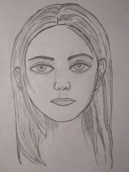 Pencil Sketches Human Faces